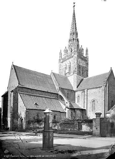 Eglise Notre-Dame d'Avesnière Ensemble sud-ouest, Mieusement, Médéric (photographe),