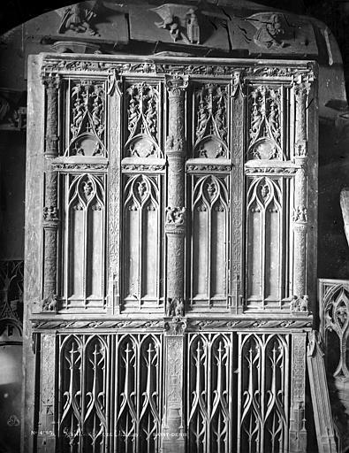 Basilique Saint-Denis Porte, Mieusement, Médéric (photographe),