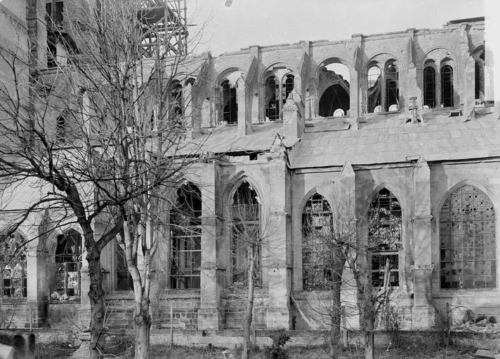 Eglise Notre-Dame (ancienne cathédrale) Façade sud, Service photographique,