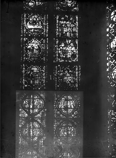 Cathédrale Notre-Dame Chapelles du choeur, vitrail I', Gaudin,