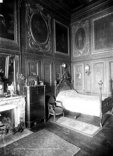 Hôtel de Lauzun ou Hôtel de Pimodan Chambre à coucher, rez-de-chaussée, Mieusement, Médéric (photographe),