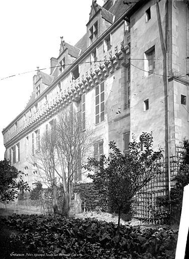 Evêché Façade sur les fossés, vue en perspective, Mieusement, Médéric (photographe),