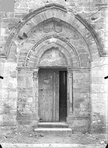 Eglise Saint-Martin Portail de la façade ouest, Queste, P. photographe),