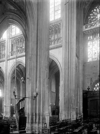 Eglise Saint-Ouen Vue diagonale, Enlart, Camille (historien),