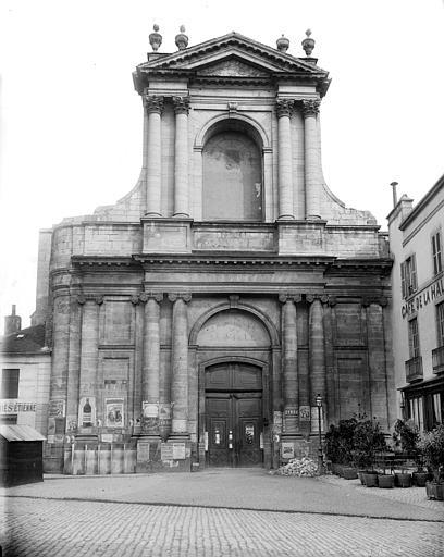 Eglise Saint-Etienne (ancienne) Ensemble ouest, Delaunay (photographe),