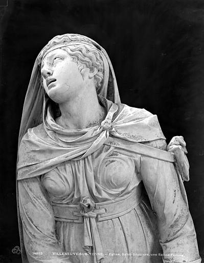 Eglise Saint-Sépulcre, une sainte femme, Neurdein (frères) ; Neurdein, Louis ; Neurdein, Louis (photographe),