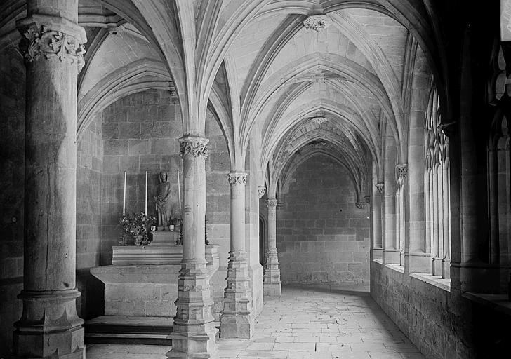 Chartreuse Saint-Sauveur (ancienne) Petit cloître et chapelle, Enlart, Camille (historien),