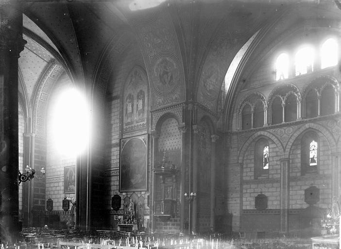 Eglise Intérieur, Enlart, Camille (historien),