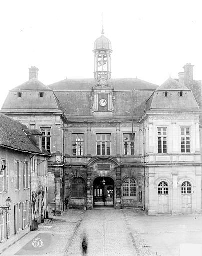 Hôtel de Ville Façade sur cour, Lancelot, Gustave,