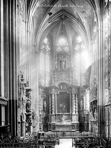 Cathédrale Notre-Dame Vue intérieure de la chapelle de la Vierge, Mieusement, Médéric (photographe),