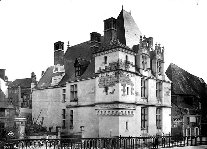 Hôtel de Ville Ensemble, après restauration, Mieusement, Médéric (photographe),