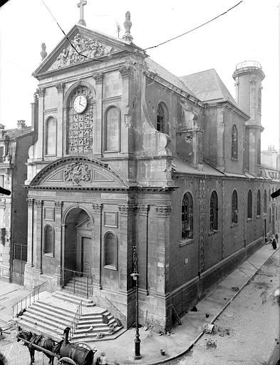 Temple protestant Ensemble sud-ouest, Queste, P. photographe),