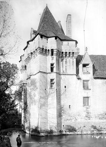 Château Donjon, côté est, Durand, Jean-Eugène (photographe),