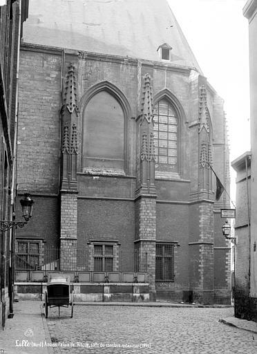 Palais Rihour Façade de la salle du Conclave, Robert, Paul (photographe),