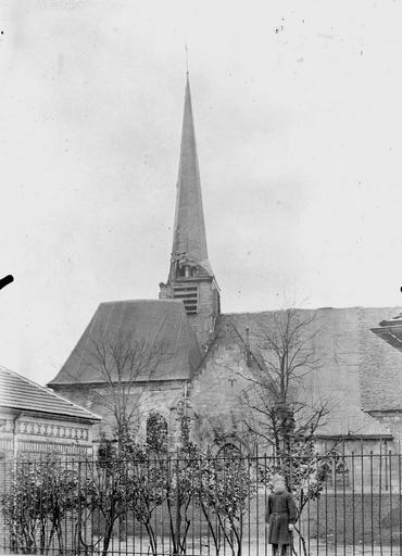 Eglise Côté nord, Service photographique,