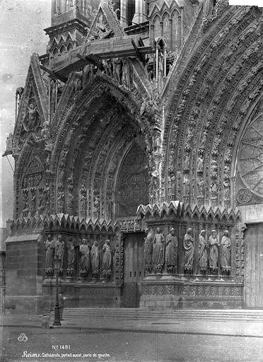 Cathédrale Notre-Dame Portail nord de la façade ouest, Mieusement, Médéric (photographe),