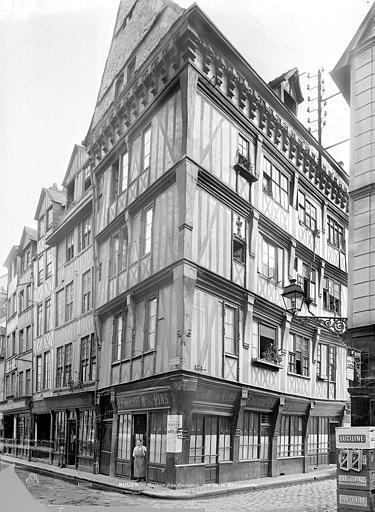 Maison des Caradas Vue d'ensemble, Durand, Jean-Eugène (photographe),