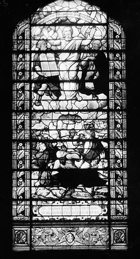 Hôpital Vitrail de la chapelle : La Transfiguration, Heuzé, Henri (photographe),