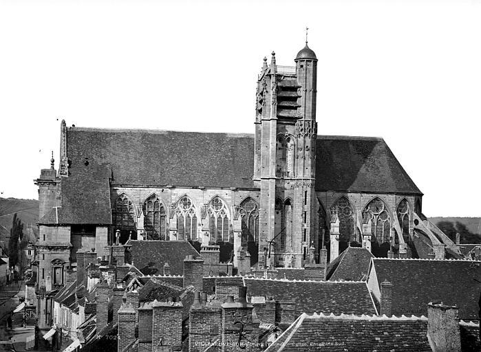 Eglise Façade sud, Durand, Eugène (photographe),