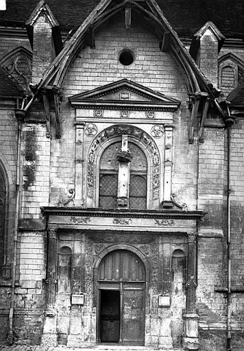 Eglise Saint-Nizier Portail ouest, Durand, Eugène (photographe),