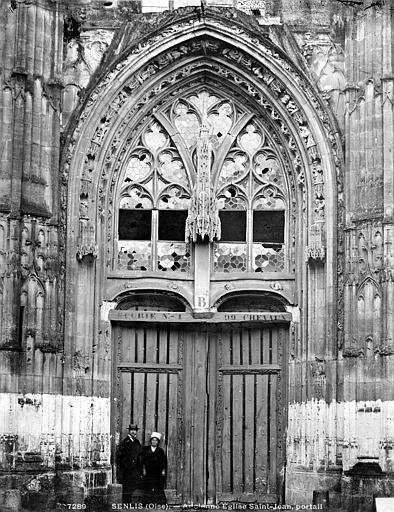 Eglise Saint-Jean Porte, Durand, Eugène (photographe),
