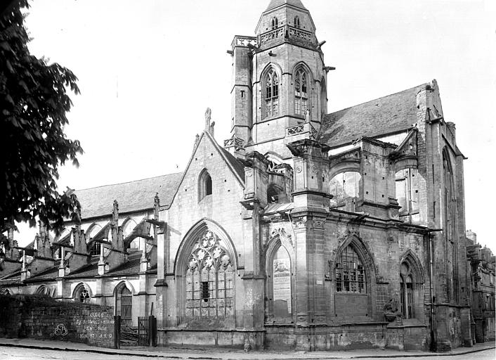 Eglise Saint-Etienne-le-Vieux (ancienne) Ensemble sud, Durand, Eugène (photographe),