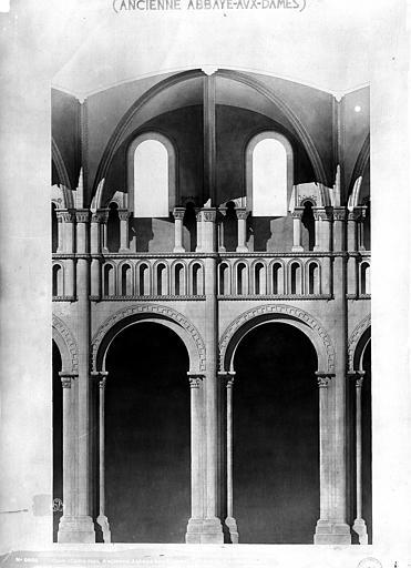 Abbaye aux Dames (ancienne), Eglise Sainte-Trinité , Mieusement, Médéric (photographe),