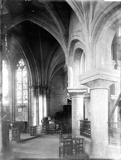 Collégiale Notre-Dame Déambulatoire, Enlart, Camille (historien),