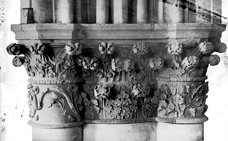 Cathédrale Notre-Dame Chapiteau du bras sud du transept, Lajoie, Abel,