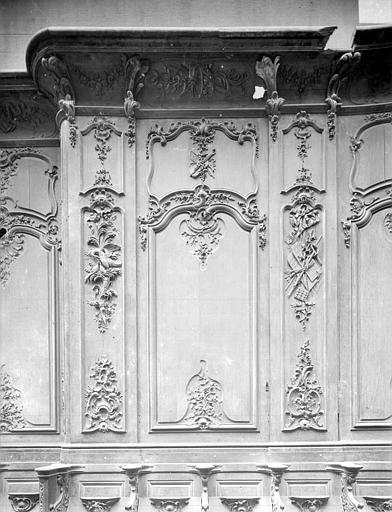 Cathédrale Notre-Dame-de-l'Assomption Stalles, troisième panneau, Heuzé, Henri (photographe),