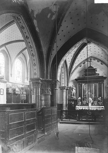 Eglise Vue diagonale, Enlart, Camille (historien),