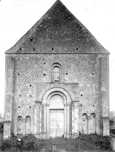 Eglise Saint-Louis Façade ouest, Heuzé, Henri (photographe),