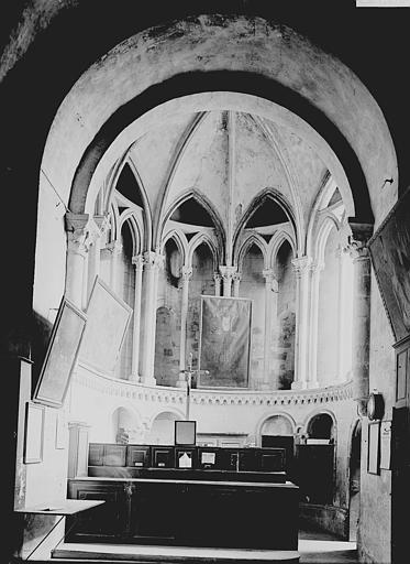 Eglise du Vieux-Saint-Etienne Chapelle, aujourd'hui sacristie, Enlart, Camille (historien),