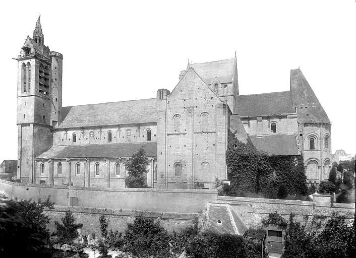 Eglise Saint-Nicolas (ancienne) Ensemble sud, Durand, Jean-Eugène (photographe),
