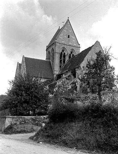 Eglise Ensemble nord-ouest, Chaine, Henri (architecte),