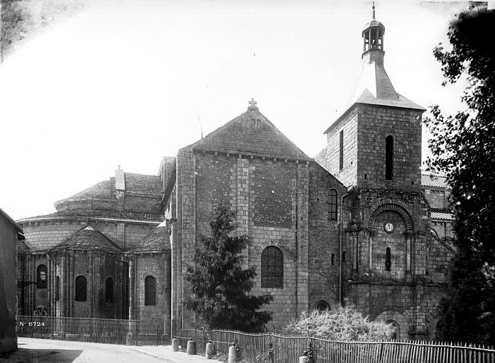 Eglise Saint-Hilaire Abside nord, Durand, Eugène (photographe),