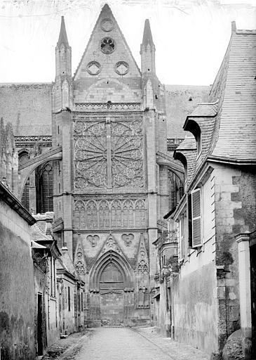 Cathédrale Saint-Gatien Façade nord : Transept, Mieusement, Médéric (photographe),