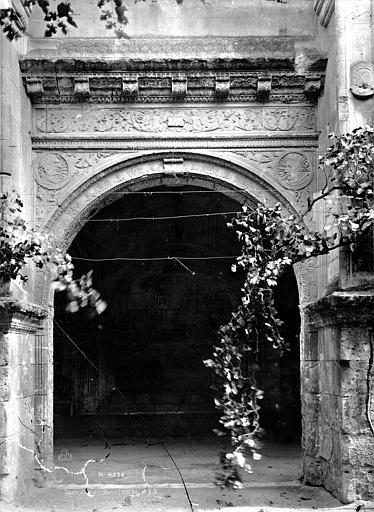 Abbaye de Saint-Martin (ancienne) Cloître, Durand, Eugène (photographe),