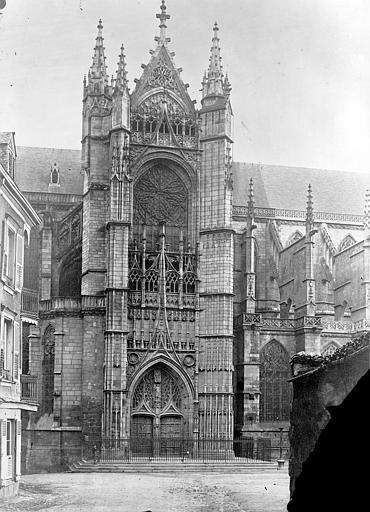 Cathédrale Saint-Etienne Façade nord : transept, Mieusement, Médéric (photographe),