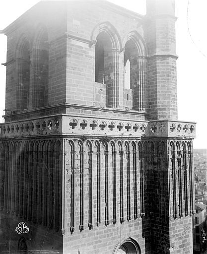 Cathédrale Saint-Nazaire (ancienne) Clocher, partie supérieure, ,