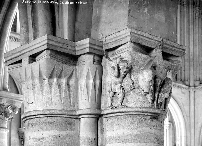 Eglise Saint-Remi Chapiteaux de la nef, Mieusement, Médéric (photographe),