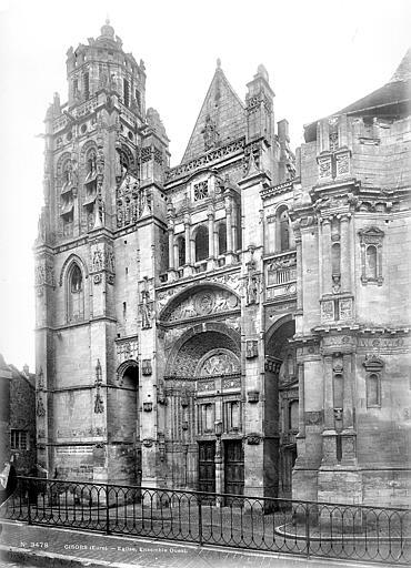 Eglise Saint-Gervais-Saint-Protais Façade ouest, Mieusement, Médéric (photographe),
