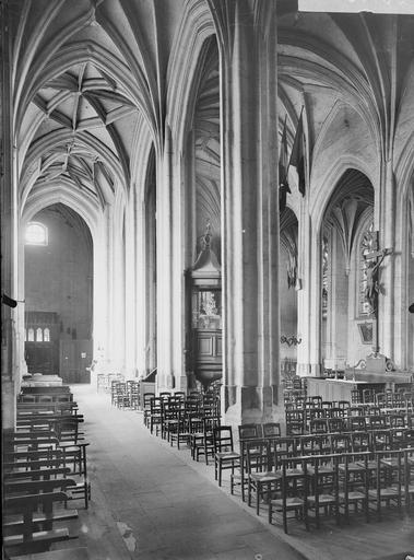 Eglise Bas-côté sud, Service photographique,