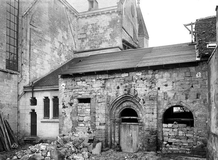 Eglise Salle capitulaire, Durand, Eugène (photographe),