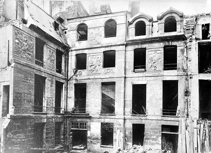 Hôtel Colbert (ancien) Ensemble est, Durand, Eugène (photographe),