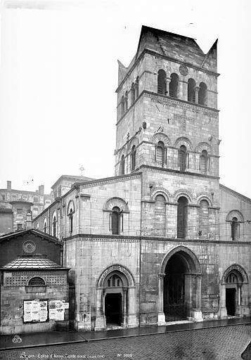 Eglise Saint-Martin d'Ainay Façade ouest, Mieusement, Médéric (photographe),