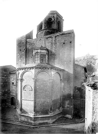 Cathédrale Notre-Dame-et-Saint-Véran (ancienne) ou église Saint-Véran Ensemble est, Mieusement, Médéric (photographe),