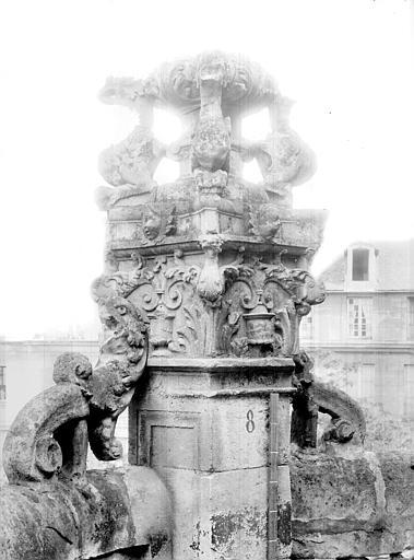 Eglise Saint-Pierre Pinacle : Partie supérieure, Durand, Jean-Eugène (photographe),