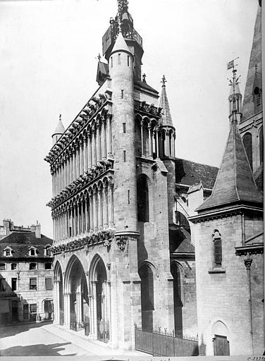 Eglise Notre-Dame Façade ouest en perspective, Durand, Jean-Eugène (photographe),