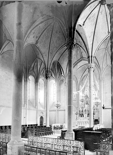 Abbaye Saint-Serge (ancienne) Eglise, choeur, Durand, Eugène (photographe),